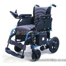 AYR-2102 Handicapped Folding Electric Wheelchair Power Wheelchair