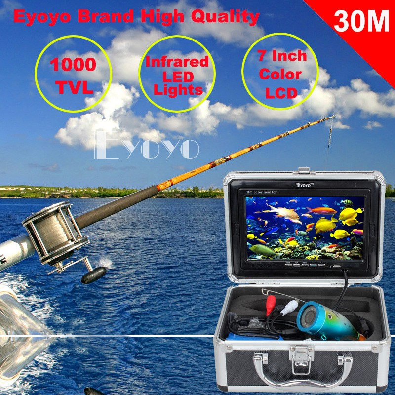 Eyoyo Original 30m Professional Fish Finder Underwater Fishing Video Camera,fishing camera