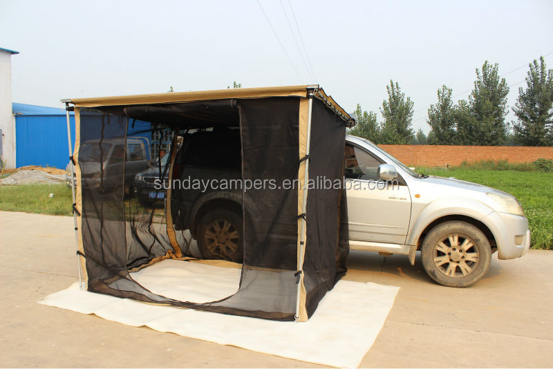 Car awning mosquito netting for awnings
