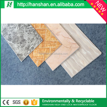 2016 Best Price Suface lamination wearable layer pvc flooring price for indoor floor tile ceramic