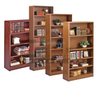 High Quality School Library Book Shelf Wooden Book Racks/bookstore Magazine Furniture
