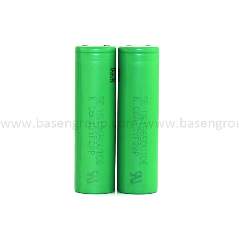 3.6v cell 18650 30A 3000mAh SE18650VTC6 high power battery