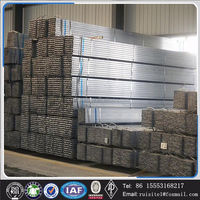 Hot Dip Galvanized 75 x 50 x 3 galvanised square tube