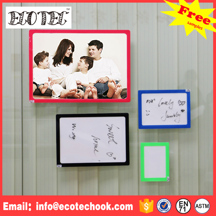 Wall Hanging Magnetic Picture Frame Cardboard Paper Photo Frame