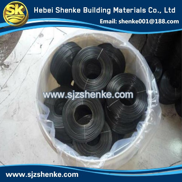 Soft 18 Gauge Soft Black Annealed Wire/Binding Wire