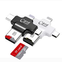 best price Newest design Storage space expansion super Usb Smart Card Reader 4 in 1 card reader