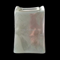 High quality LDPE clear plastic ice bag for frozen chicken food packaging bag