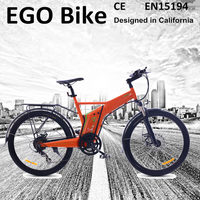 Flyer, hot sale 48 volt 500 watts used electric road bicycle