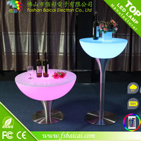 IP 68 Water proof Led floor lighting 16 color imaging with remote control indoor and outdoor furniture