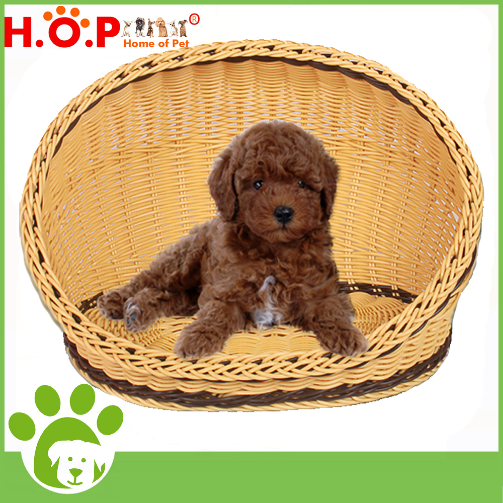 Wholesale Pet House Bamboo Dog Nest Home Of Pet Brand Fashion Eco-friend Bamboo Pet Carrier House For Small Dog