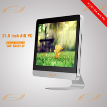 21.5 inch interactive AIO PC with capacitive 10 points touch