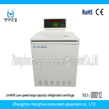 Laboratory Large Capacity Low Speed Refrigerated Centrifuge