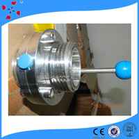 High quality stainless steel sanitary butterfly valve manufacture CE/ISO
