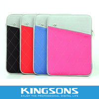 2013 hot sell Kingsons neoprene sleeve for laptop KS6205V