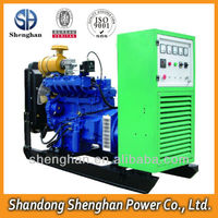 Small size magnetic engine biogas generator 25kw