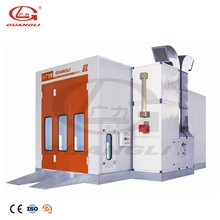 2018 China Supplier CE approved auto bus paint spray booth design