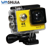 Motion detection wifi action camera 4k waterproof with accessories