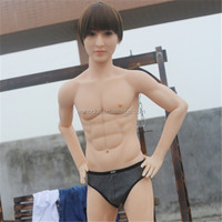 silicone life size torso Realistic Male Sex Doll for women with penis and anus hole