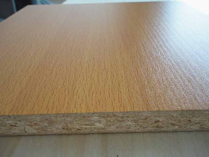 16mm white melamine particle board