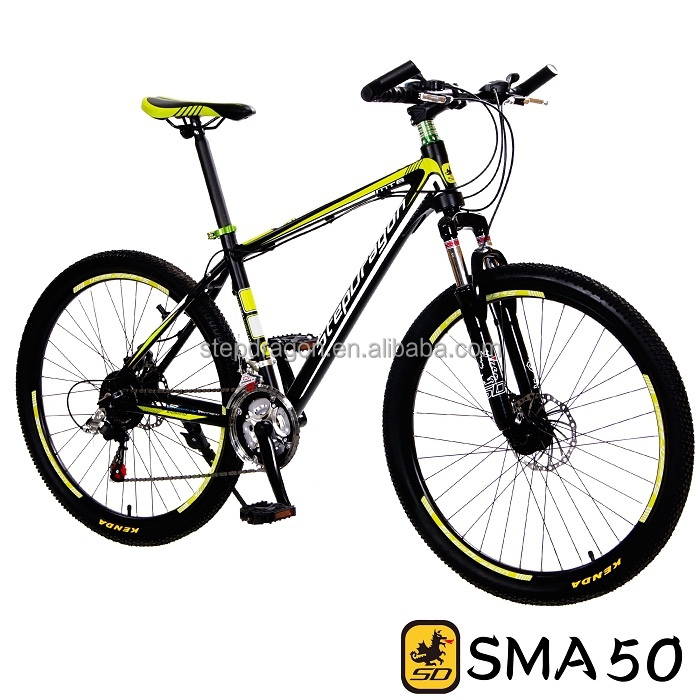 "SAMPLE FREE~Taiwan StepDragon SMA-50 High Quality 26"" 21SP Alloy Mountain Bicycle"