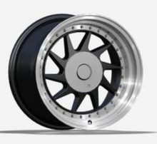 high quality deep dish alloy wheel rims, 15,16 inch wheels with pcd100, 114.3(ZW-Z384)