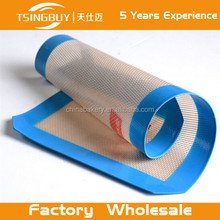 Alibaba wholesale Tsingbuy Microwave Baking Tool Silicone Flat Mat/Silicone Rubber Baking Oven Mat/world cuisine baking mat