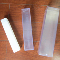 PVC Clear Plastic Square Box For