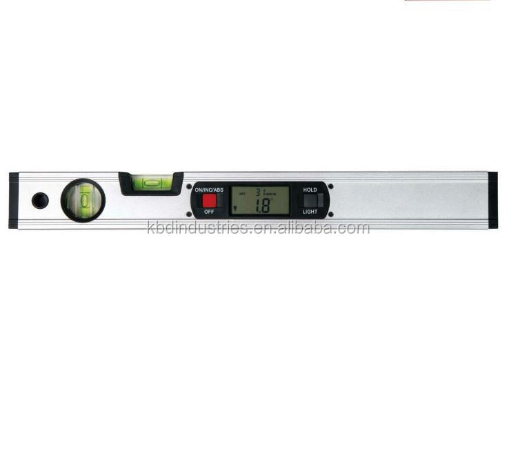 High precision electronic digital spirit level
