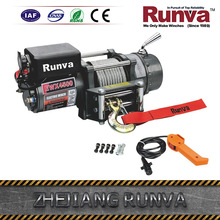Runva Factory Price Dc 12V Or 24V Power Drive Optional 4500Lb Winch