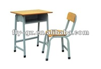 cheap high school classroom furniture sets table seatings with metal book box