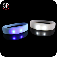 New Products 2015 New Business Ideas Flashing Colorful Cheap Custom Silicone Led Wristband Watch