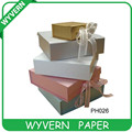[Wyvern]Colorful luxury paper Gift boxes wholesale with ribbon