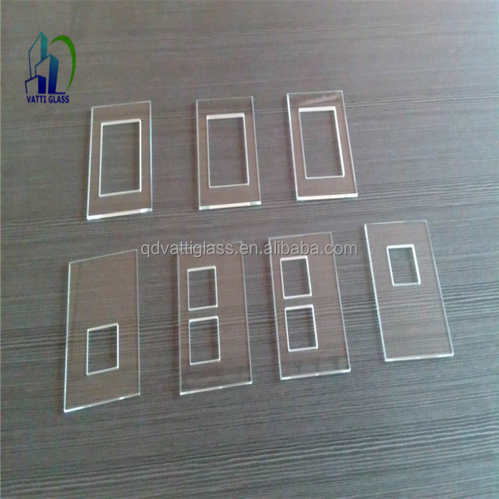 Decorative switch glass panel tempered glass touch switch for Decorative tempered glass panels