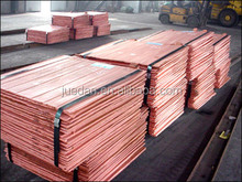 LME registed copper cathode 99.99% widely used in electric light industry etc