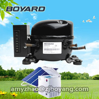 R134a refrigerant movable dc 12v refrigerator freezer compressor for mini portable car refrigerator