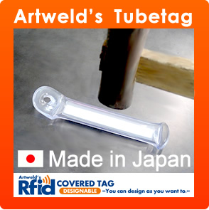 Artweld's Tube Tag / nfc plastic card
