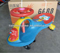 1-4years old children carton walking car swing car