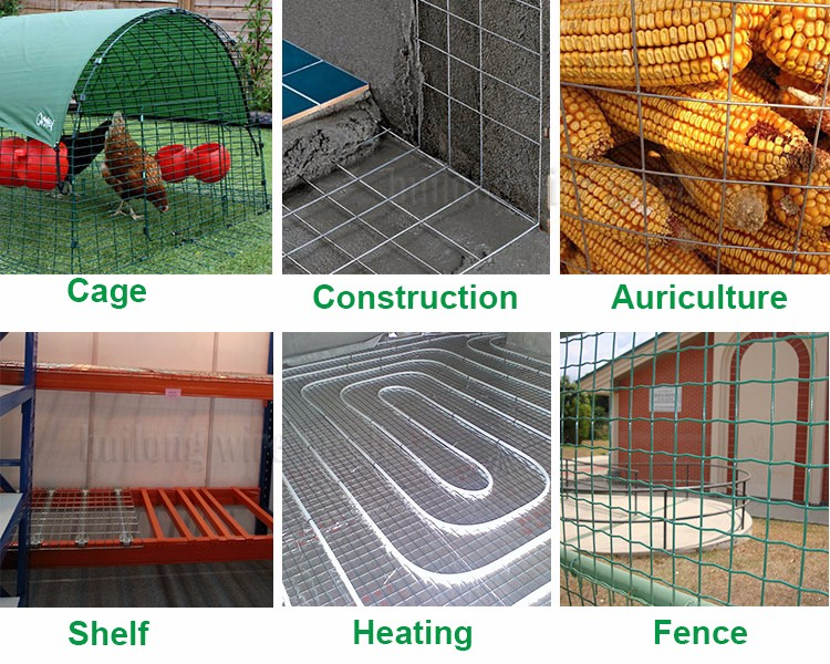 Factory direct 3x3 galvanized cattle welded wire mesh panel retail