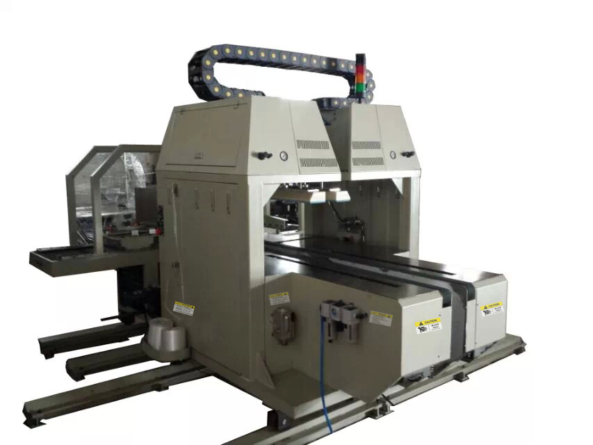 corrugated box auto strapping (binding or bundler) machine
