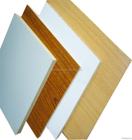4x8 laminated mdf board melamine faced /raw mdf sheet