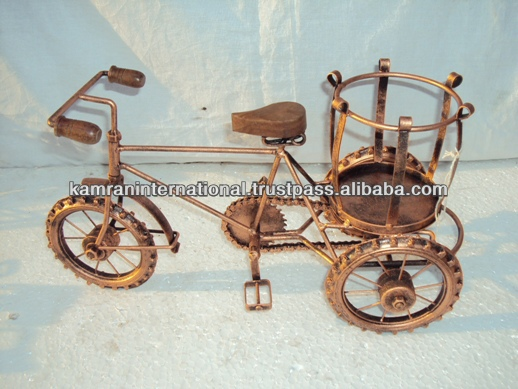 Miniature 3 wheeler rickshaw , table display decorations, miniature bicycle toy, gift bicycle, toys bicycle, rickshaw 3 wheel bi