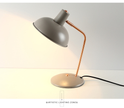 Macaron color metal table desk lamp reading light