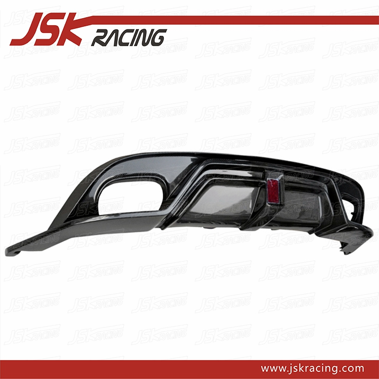 BLACK SAILS STYLE REAR DIFFUSER FOR 2013-2016 JAGUAR F-TYPE