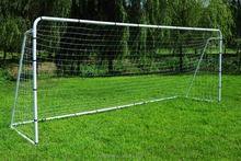 3MX2M Outdoor Competetion outdoor steel portable soccer goals with PE net