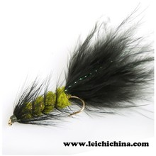 High quality Streamer fly Woolly Bugger fly fishing flies