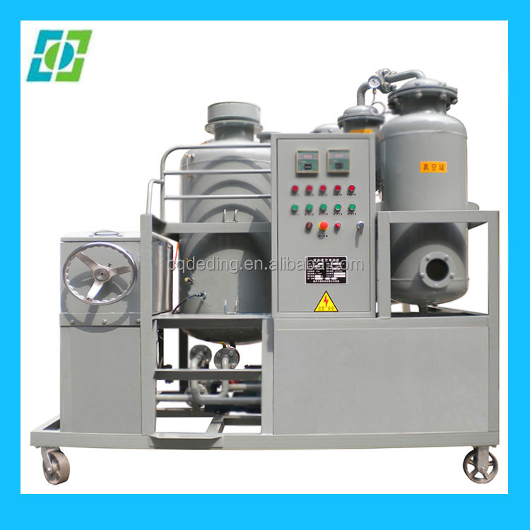 Insulating Oil Cleaning Treatment, Vacuum Type Oil Purifier Machine, Waste Oil Solution