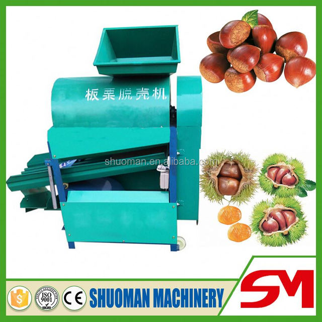 Most convenient and efficient commercial chestnut peeler machine