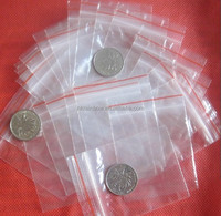 "Accessory / Jewelry / Ziplock Plastic PE Clear Bags 1.5"" X 2.4"" Small bag"