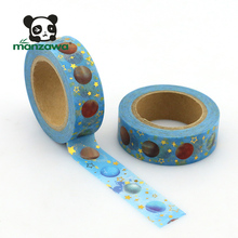 free samples beautiful cosmic galaxy planets design and astronomy solar system washi masking tape