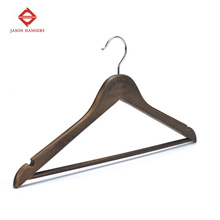 Wholesale Wooden Used Clothes Hangers with Logo